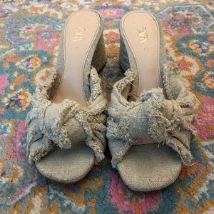 Zara Sandals with small heel